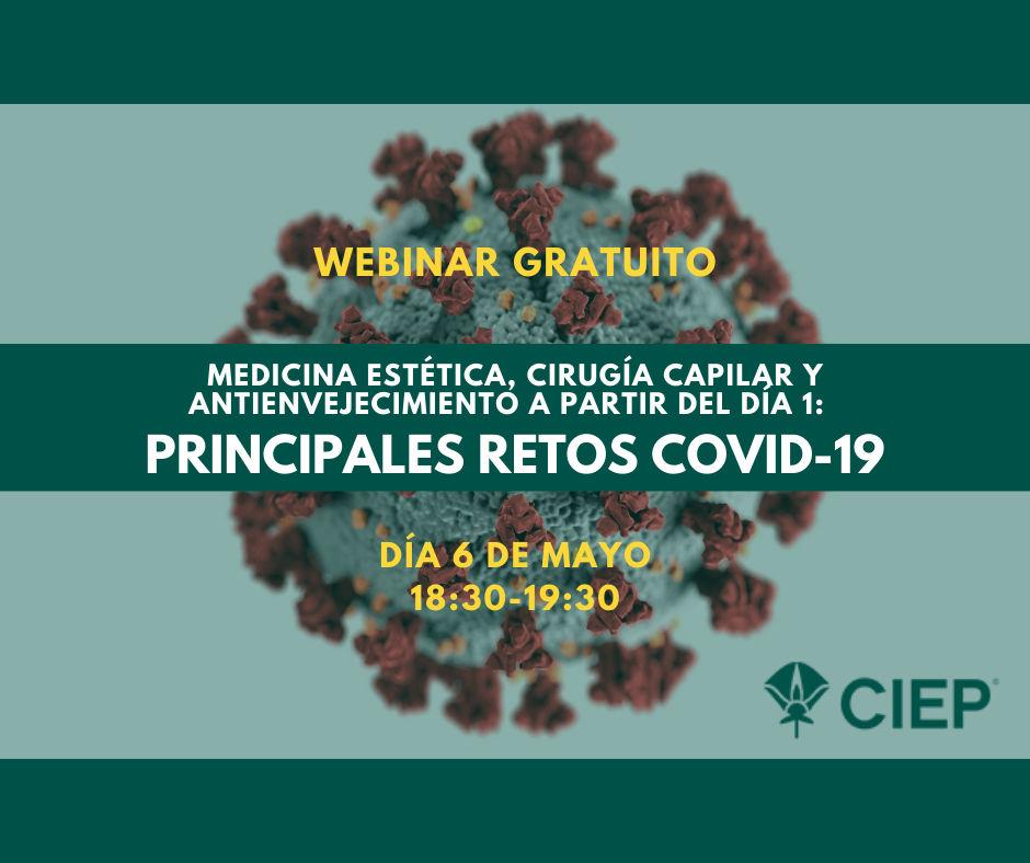 El CIEP convoca una webinar gratuito para analizar cómo afecta el COVID-19 al sector